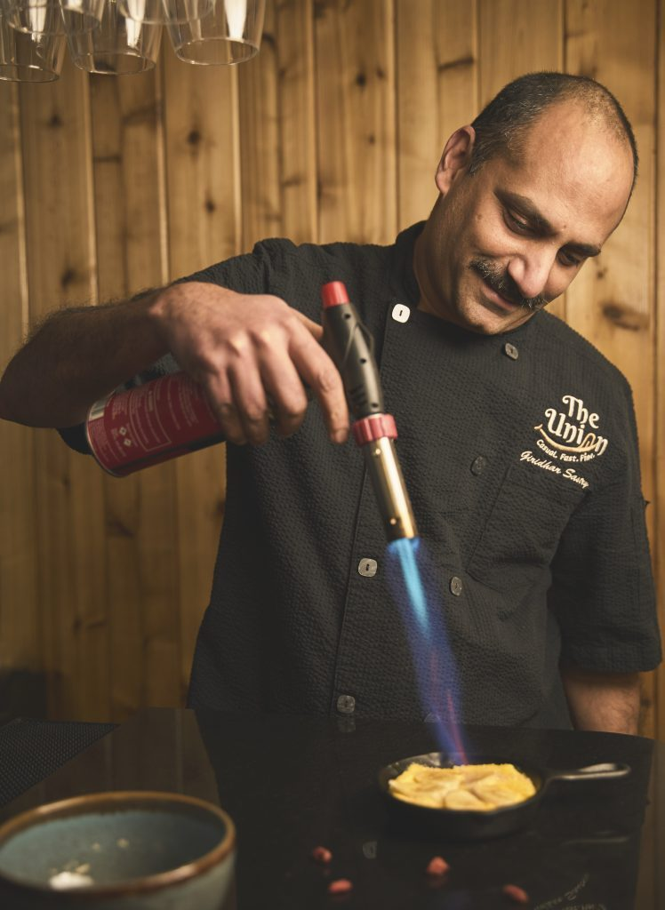 Giridhar sastry is the chef and owner of the union restaurant